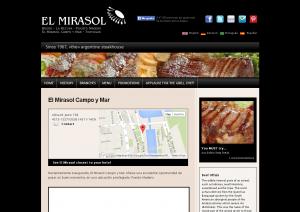 El Mirasol Campo y Mar   Argentine Steakhouse   El Mirasol
